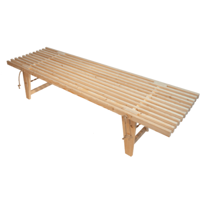 EcoFurn 91044 DayBed Larch natural flat pack untreated chemical free