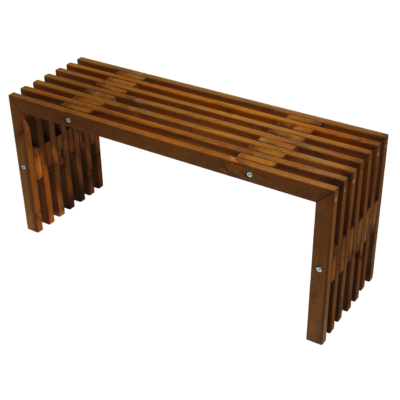 EcoFurn 91112 D-Bench 100 Pine Brown oiled flat pack