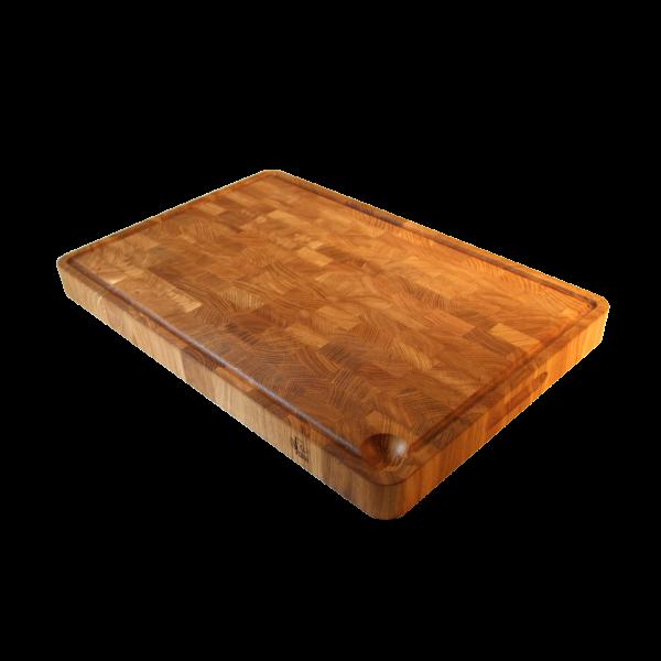 EcoFurn 92447 Cutting Board end grain OAK 60x40x5 linseed oiled