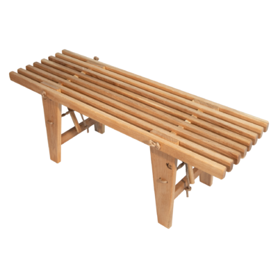 EcoFurn 91617 EcoBench 120 oak oiled flat pack