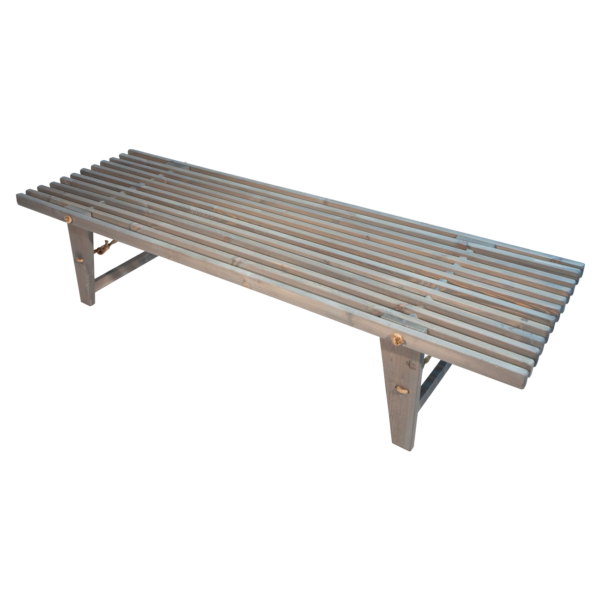 EcoFurn 91075 DayBed Pine grey oiled flat pack