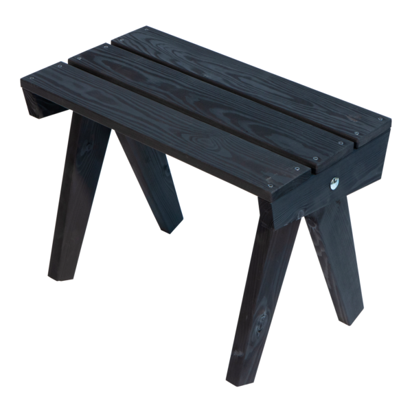 EcoFurn 93406 Granny Table pine black oiled flat pack