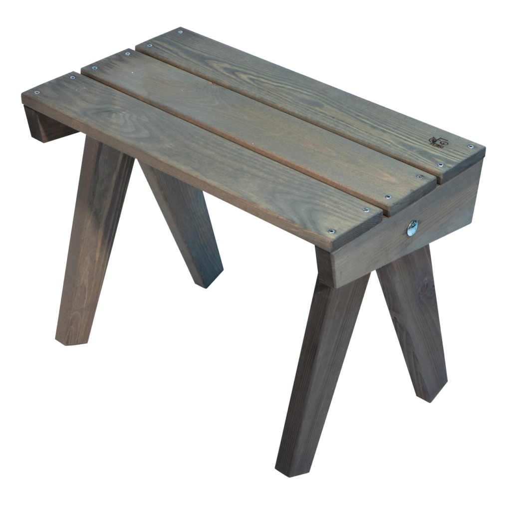 EcoFurn 93413 Granny Table pine grey oiled flat pack