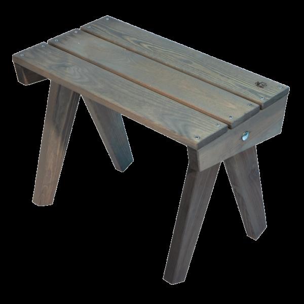 EcoFurn 93413 Granny Table pine grey oiled flat pack