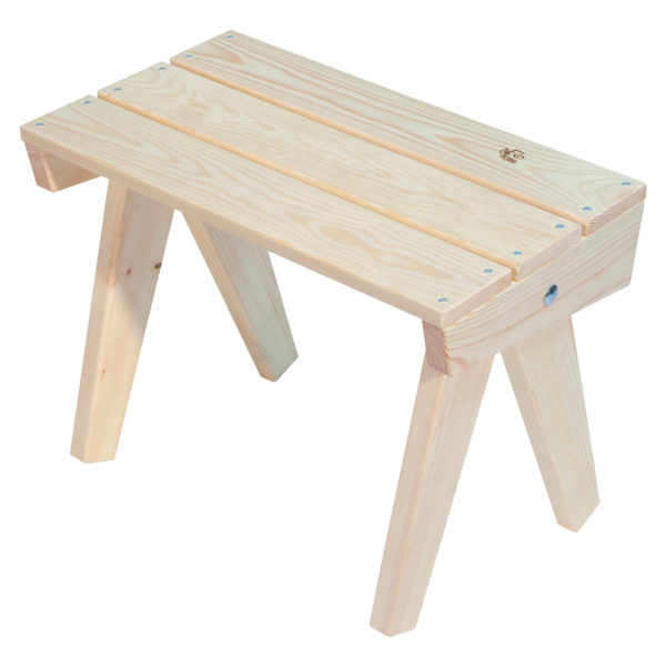 EcoFurn 93420 Granny Table Natural flat pack untreated