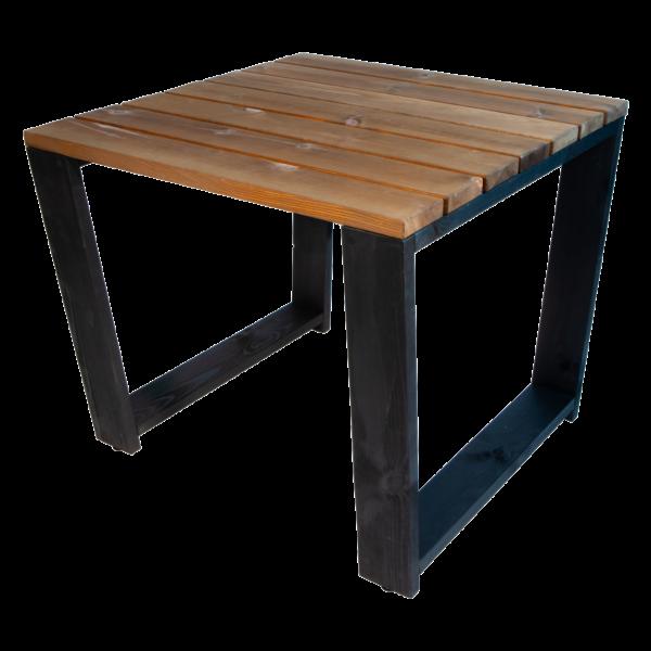 EcoFurn 94298 Jussi Table 87 Pine oiled black-brown flat pack