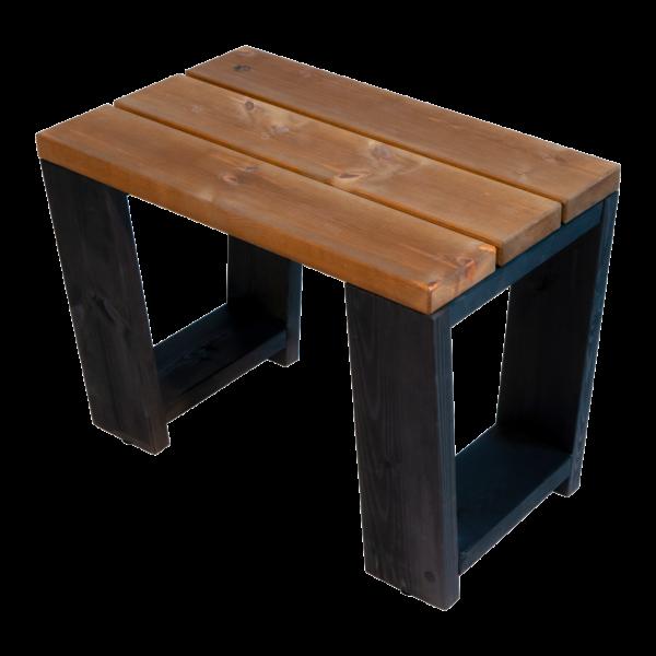 EcoFurn 94274 Jussi Bench 60 Pine oiled black-brown flat pack