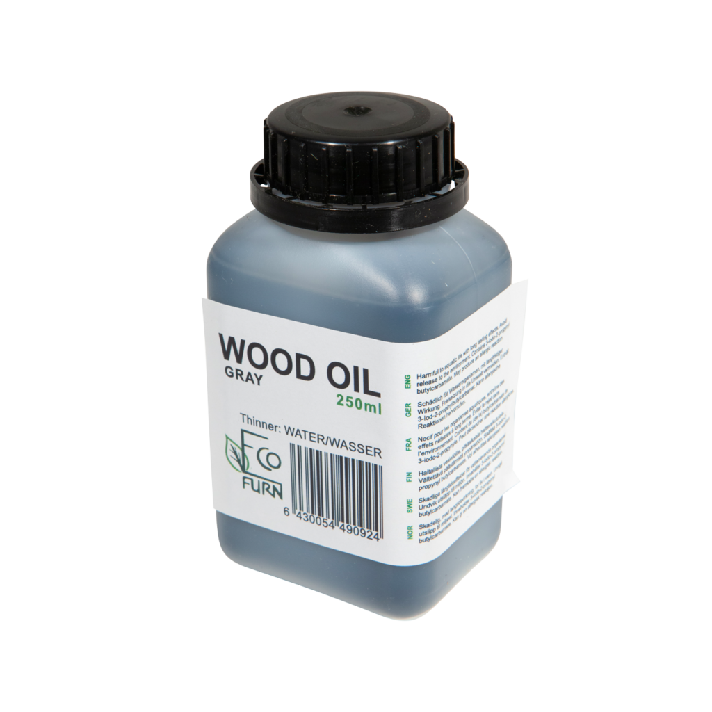 EcoFurn 90924 Wood Oil Grey