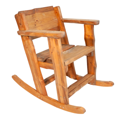 EcoFurn 94700 Rustica Rocking Chair pine brown oiled flat pack