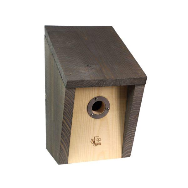 EcoFurn 93918 PÖNTTÖ 32 Birdhouse rock grey