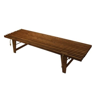 EcoFurn 91013 DayBed ash brown oiled flat pack