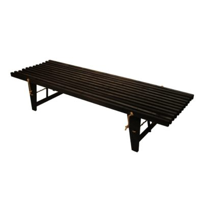 EcoFurn 91099 DayBed alder black oiled flat pack