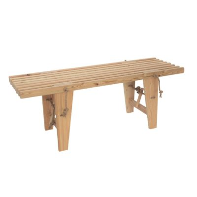 EcoFurn 91440 EcoBench 120 larch natural flat pack