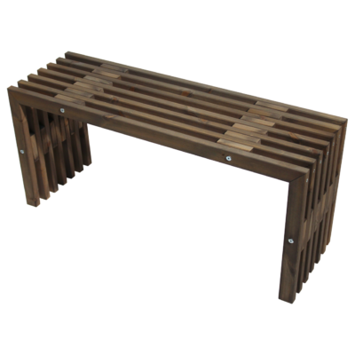 EcoFurn 93765 D-Bench 100 pine grey oiled flat pack