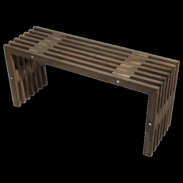 EcoFurn 93765 D-Bench 100 pine grey oiled flat pack